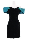 Womens Jessica McClintock Totally 80s Prom Or Cocktail Dress