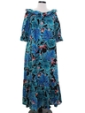 Womens Hawaiian Muu Muu Dress