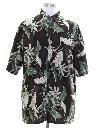 Mens Rayon Hawaiian Shirt