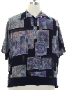 Mens Wicked 90s Graphic Print Shirt
