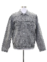 Mens Acid Wash Denim Jacket