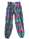 Womens or Girls Totally 80s Baggy Pants