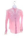Womens/Girls Totally 80s Rodeo Style Western Shirt