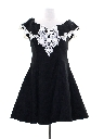 Womens Gunne Sax Prom Or Cocktail Mini Dress