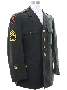 Mens Army Military Jacket