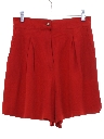 Womens Totally 80s High Waisted Shorts