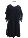 Womens Knit Hippie Dress
