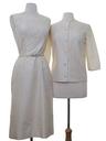 Womens Mod Silk Dress