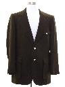 Mens Disco Style Blazer Sportcoat Jacket