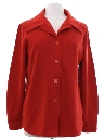 Womens Knit Leisure Shirt Jacket