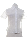 Womens Sheer Shirt