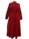Womens Totally 80s Western Dress