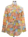 Mens Hippie Western Shirt