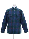 Mens Quilted Lining Flannel Shirt