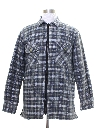 Mens Quilted Lined Flannel Shirt Jac Shirt