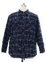 Mens Levis Quilted Lining Flannel Shirt
