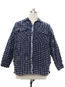 Mens Quilted Lining Flannel Shirt Jac Shirt