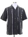 Mens Silk Sport Shirt
