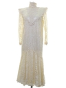 Womens Jessica McClintock Prairie Style Cocktail or Wedding Dress
