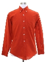 Mens Mod Preppy Shirt