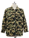 Mens Camouflage Flannel CPO Style Shirt