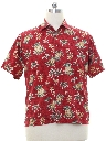 Mens Hawaiian Style Shirt