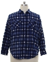 Mens Flannel Gas Station Shirt