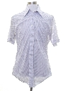 Mens Subtle Print Shirt