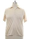 Mens Resort Wear Style Solid Disco Shirt