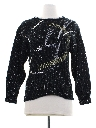 Womens Totally 80s Cocktail Sweater