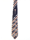 Mens Mod Diagonal Necktie