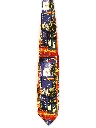 Mens Wide Picasso Art Necktie