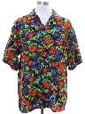 Mens Totally 80s Rayon Hawaiian Shirt