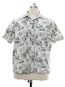 Mens Island Style Sport Shirt