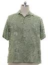 Mens Island Style Rayon Sport Shirt