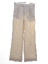 Mens Totally 80s Pleated Linen Pants