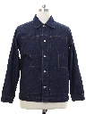 Mens Levis Sample Item 1920s Style Denim Jacket