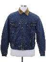Mens Lee Storm Rider Western Denim Jacket