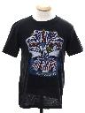 Unisex Kinks 83 Concert T-shirt