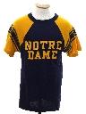 Unisex Champion Brand Notre Dame Team Shirt