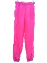 Unisex Totally 80s Baggy Neon Pants