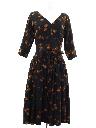 Womens Fab Fifties Designer Dress