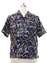 Mens Harley Davidson Hawaiian Shirt