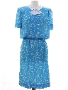 Womens Totally 80s Secretary Dress Dress