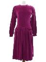 Womens Totally 80s Dress