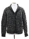 Mens Cardigan Fisherman Style Sweater