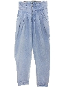 Womens Z. Cavaricci Highwaisted Totally 80s Denim Jeans Pants