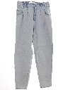 Womens Levis Super Highwaisted Totally 80s Pleated Denim Jeans Pants