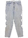 Womens Wicked 90s Highwaisted Punk Grunge Denim Jeans Pants