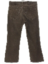 Mens Levis 517 Bootcut Flared Corduroy Jeans Pants